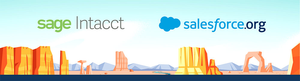 Salesforce.org (http://salesforce.org/) and Sage Intacct make it easy to handle nonprofit fundraising and finance.