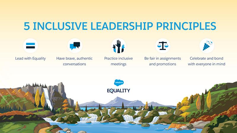 5 Inclusive Leadership Principles