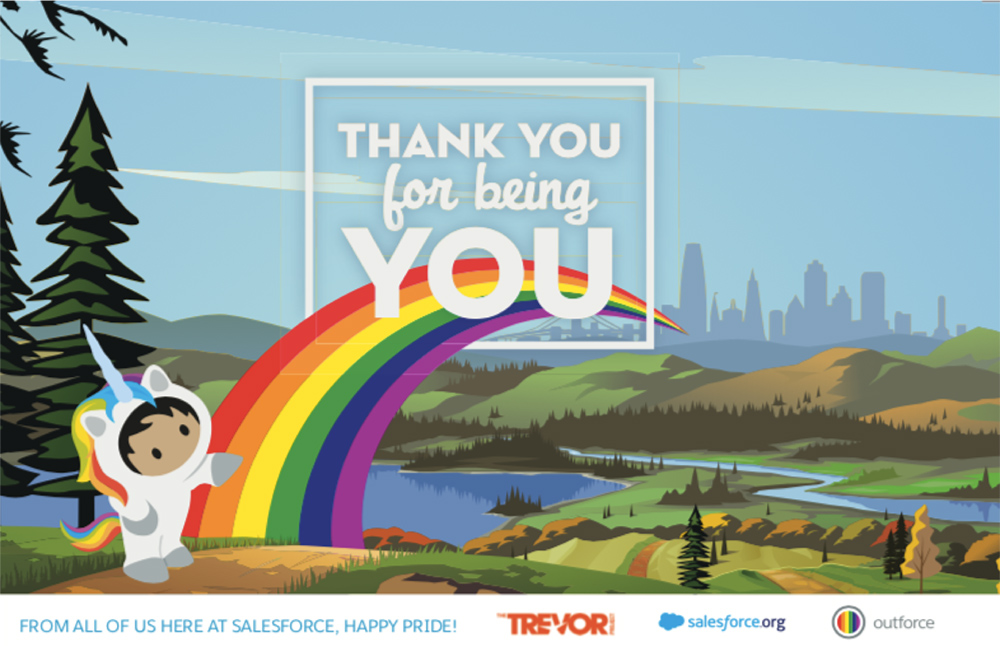 Salesforce engages employees with purpose-driven partnerships with nonprofits to advance equality