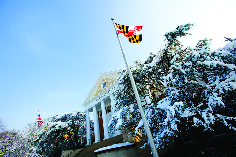 University of Maryland – Robert H. Smith School of Business campus. UMD uses Salesforce.org Education Cloud.