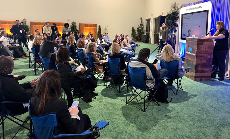 Session at Higher Ed Summit 2018