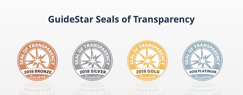 Your nonprofit can provide as much or as little information as you wish. Your organization can earn a Bronze, Silver, Gold, or Platinum Seal of Transparency by providing different levels of information.
