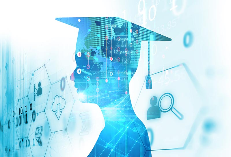 Higher education technology helps immensely with recruiting and admissions