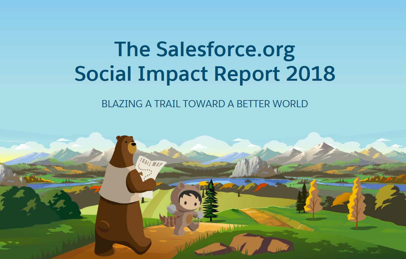 Salesforce.org Social Impact Report 2018