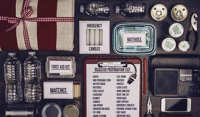 Disaster preparation kit