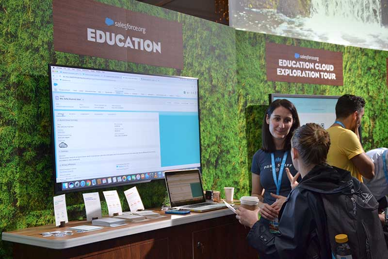 Dreamforce gets a one-on-one live demo
