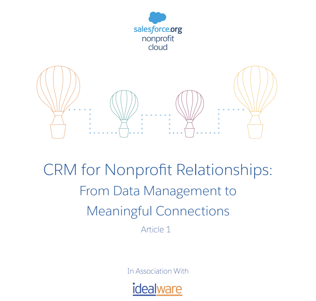 CRM for nonprofit relationships