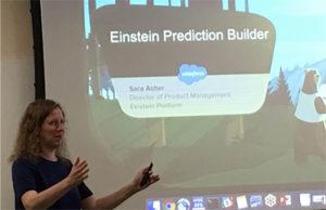 Sarah Asher discusses Einstein Prediction Builder