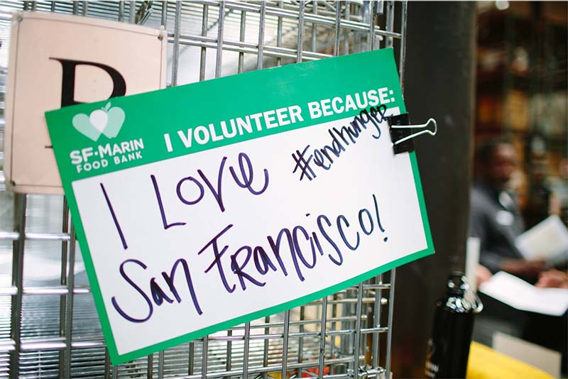 San Francisco-Marin Food Bank and Corporate Volunteering: Alleviating Poverty with Food Banks