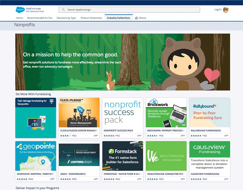 Nonprofits on AppExchange