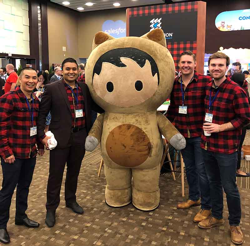 You'll have fun meeting great people at Salesforce.org events!