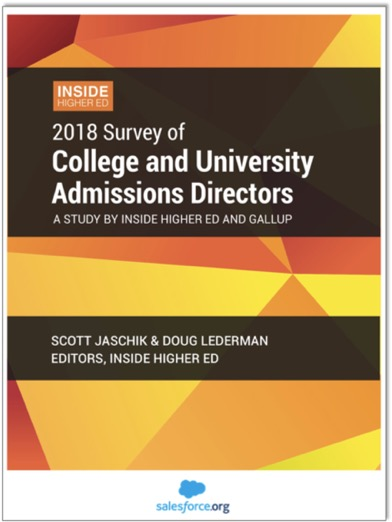 2018 Inside Higher Ed Survey