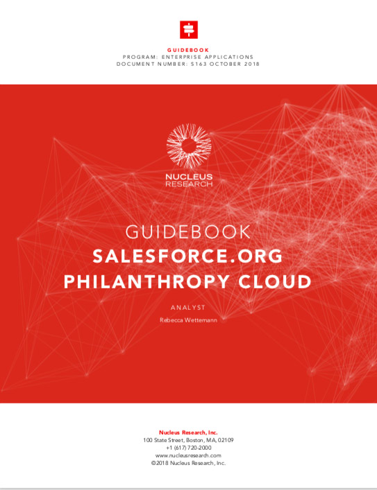Philanthropy Cloud Guidebook