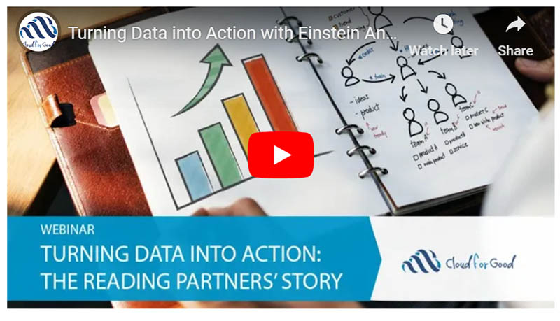 Find out how Reading Partners turned their data into action with Einstein Analytics.