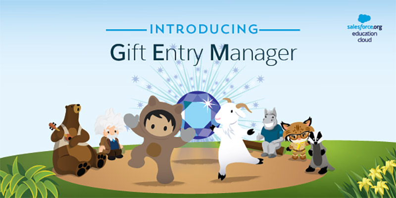 Announcing Gift Entry Manager for Higher Ed Advancement
