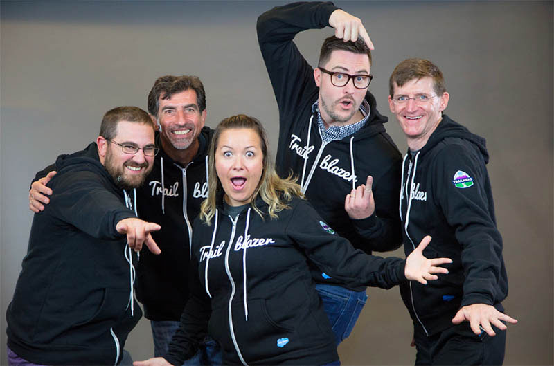 Salesforce MVPs gather at the Community Sprint in Denver, 2018