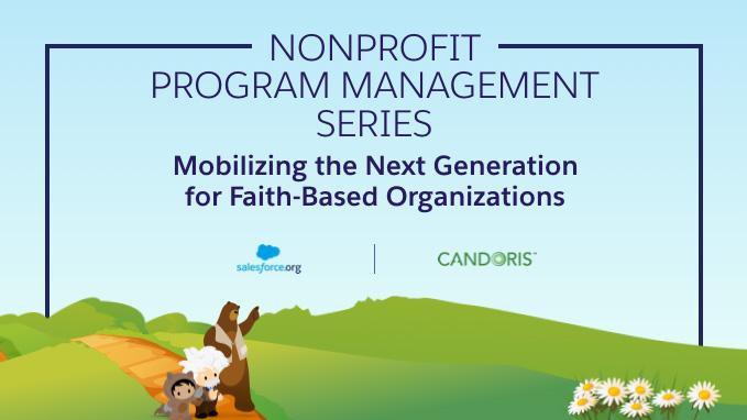 Watch the Webinar on Next Gen Faith-Based Organizations