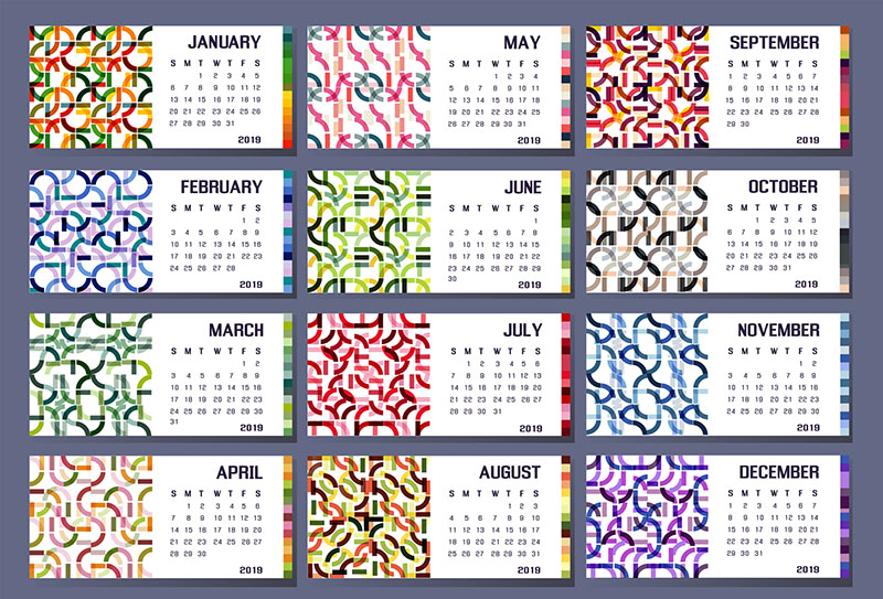 Calendar to inspire year-round giving