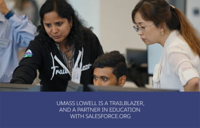 Trailblazer UMass Lowell uses Education Cloud