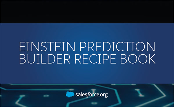 Einstein Prediction Builder Recipe