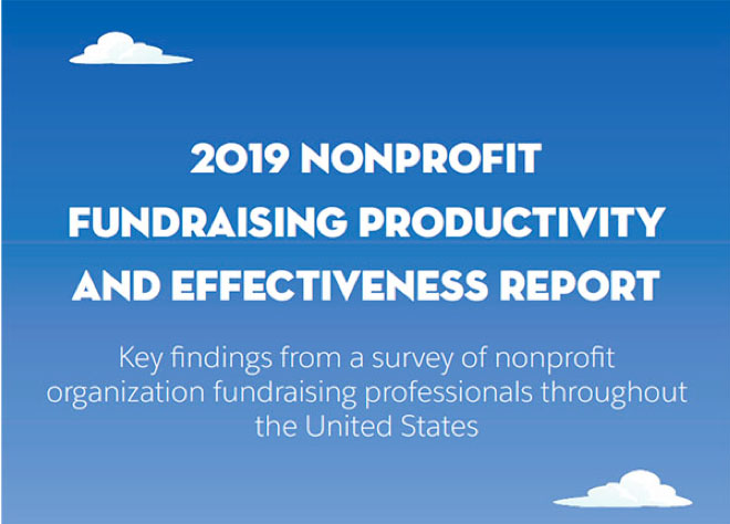 2019 Fundraising Productivity and Effectiveness report