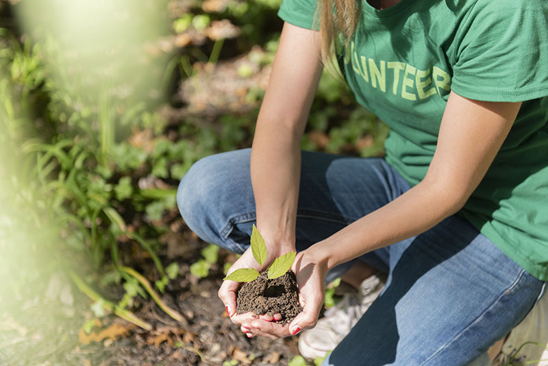 Earth Day provides a great opportunity to get involved—especially in places like your own community garden or neighborhood park.