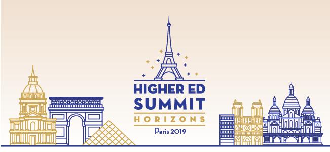 Higher Ed Summit Horizons - Paris, 10th October, 2019