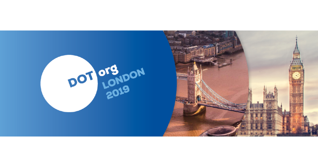 DOT Org London takes place in October, 2019