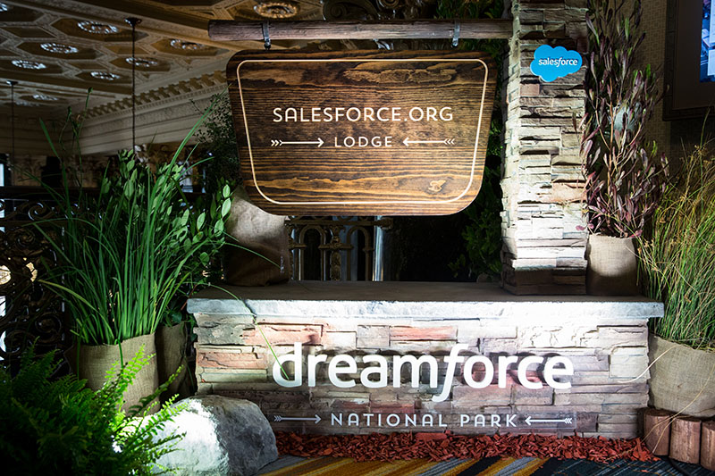 Salesforce.org Lodge at Dreamforce