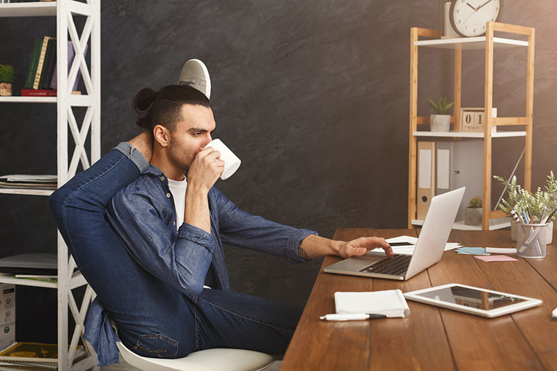 Salesforce is flexible, so unlike this picture, you don't have to contort yourself to fit your processes to the technology. Salesforce is customizable to any organization.