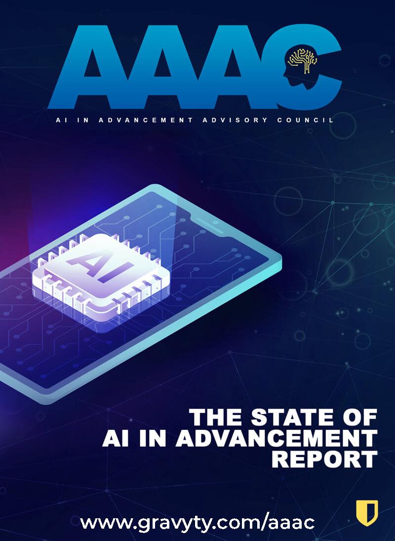 State of AI in Advancement Report