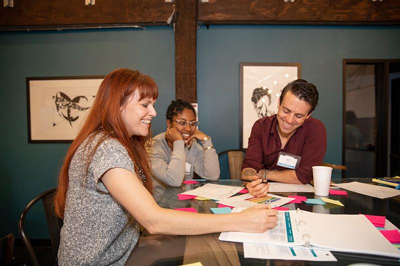 A tech-nonprofit collaborative discussion