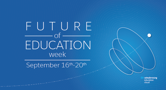 Future of Education week is September 16-20, 2019