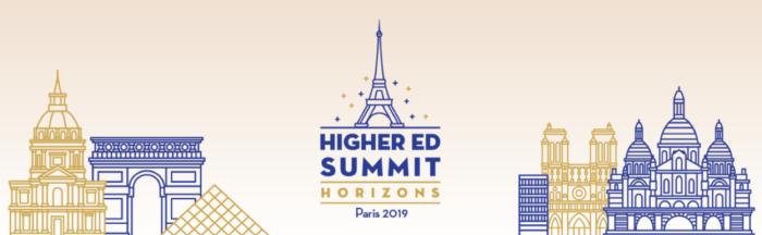 Higher Ed Summit Horizons: Paris 2019