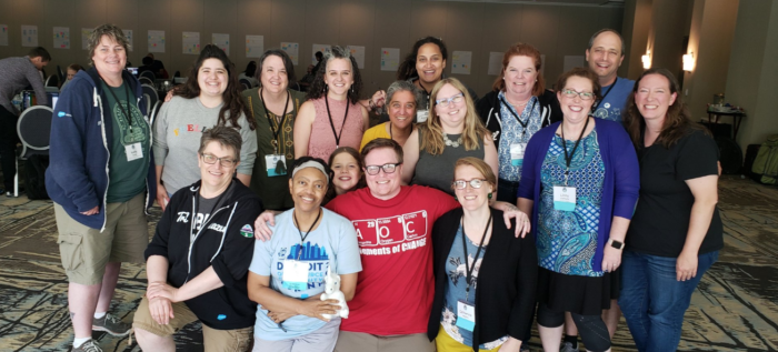 Amplify gathers at the Community Sprint in Detroit!