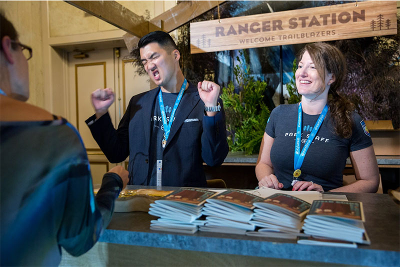 People get excited about learning at Dreamforce!