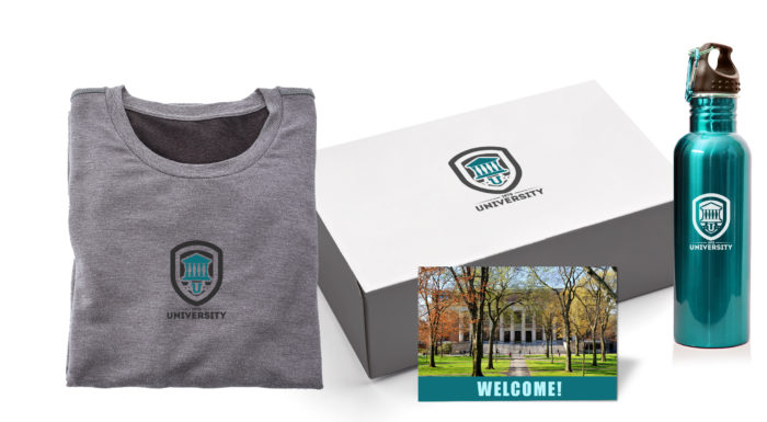 Back to school student welcome package.