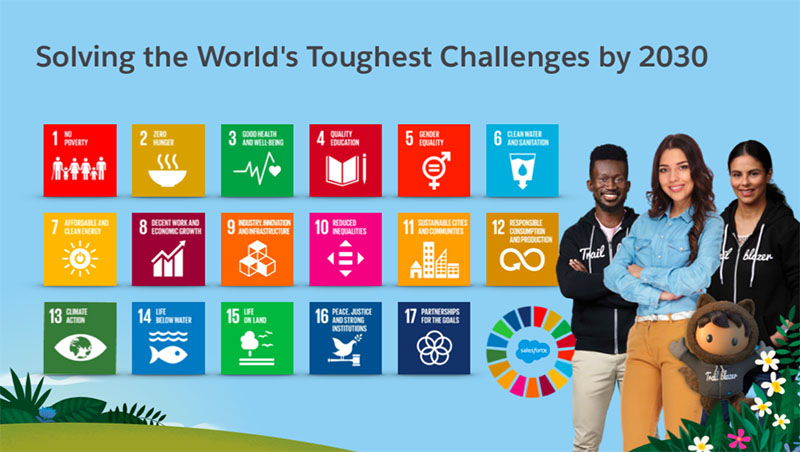 Salesforce is one company that is working to advance the SDGs. Learn how you can, too.