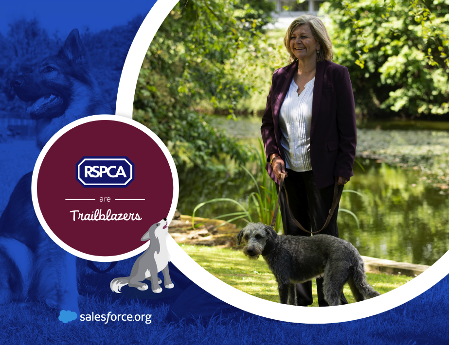 RSPCA are Trailblazers