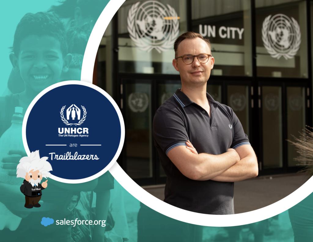 UNHCR are Trailblazers