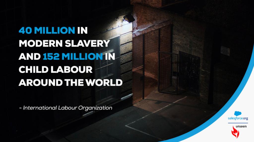 Unseen data on modern slavery