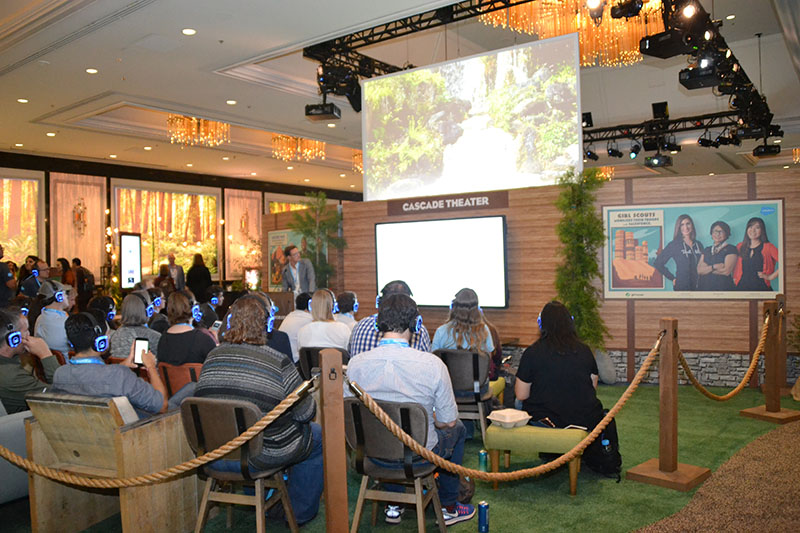 Attendees at Dreamforce '18