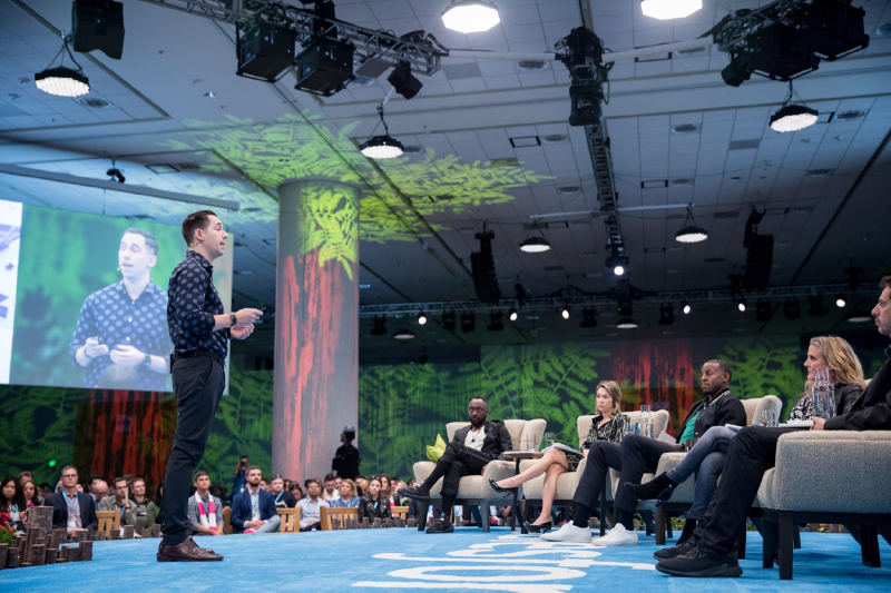 Photo of a session at Dreamforce