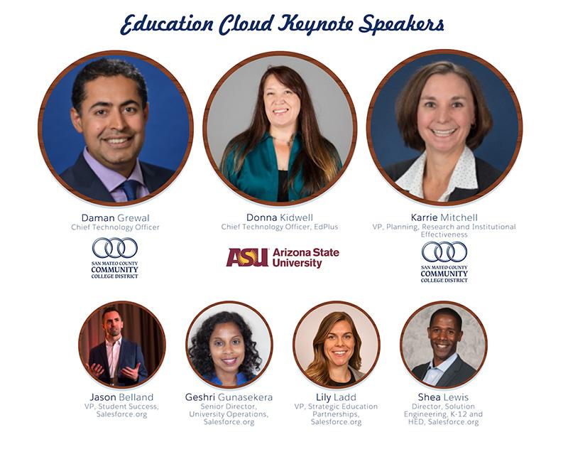 Salesforce.org Education Cloud Dreamforce 2019 Keynote Speakers