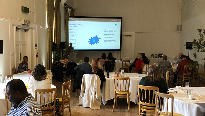 The community gathers at a Success Summit in Edinburgh
