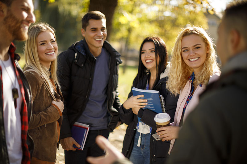 Higher education students