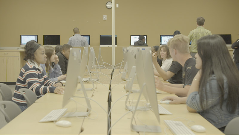 Students in North Little Rock High School, Arkansas, are able to access computer science and coding courses thanks to their broadband upgrade.