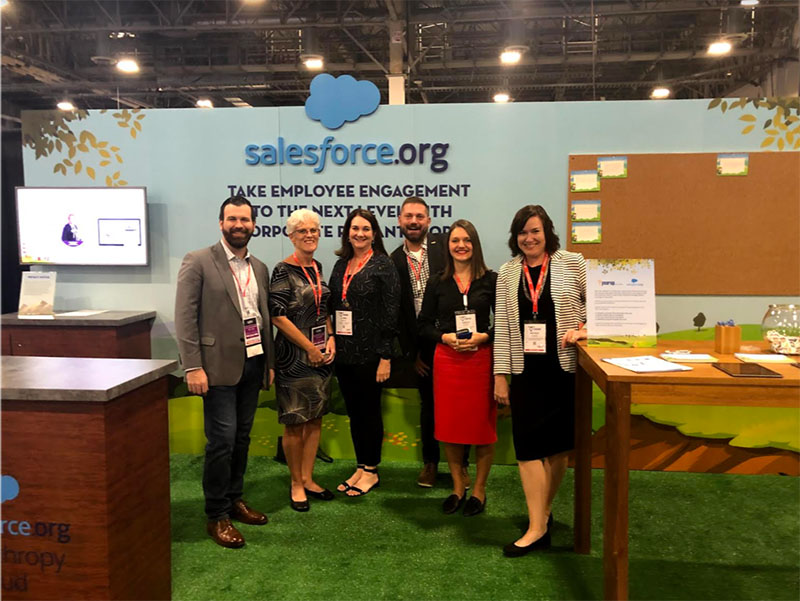 The United Way and Salesforce.org teams join forces to revolutionize corporate philanthropy