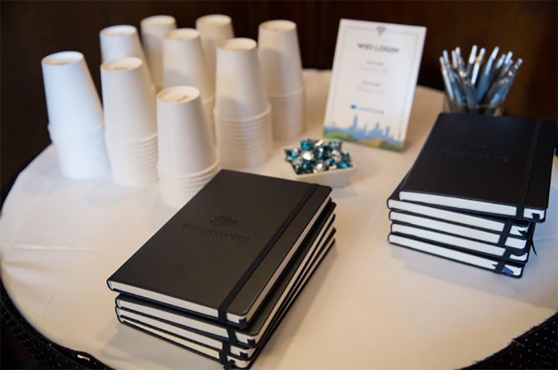 Notebooks and materials at Dreamforce