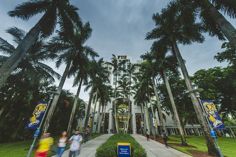 The Florida International University campus. Photo credit: FIU